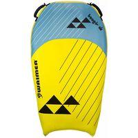 Waimea Tabla de bodyboard inflable Boogie Air PVC amarillo y azul
