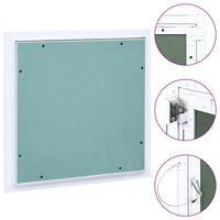 vidaXL Panel de acceso estructura aluminio y placa de yeso 400x400 mm