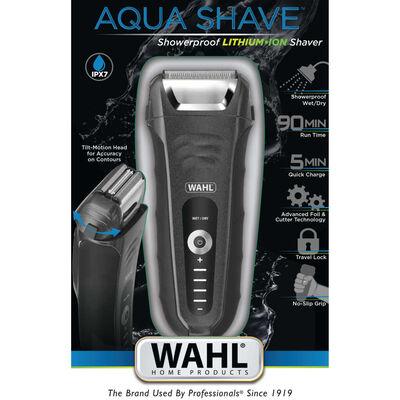 Wahl Maquinilla de afeitar de barba 6 piezas Aqua Shave 18W