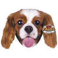 Pet Faces Cojín con cara de mascota King Charles