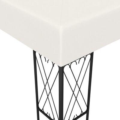 vidaXL Cenador tela color crema 3x4 m