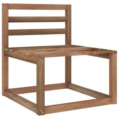 vidaXL Juego de muebles de jardín 8 piezas con cojines gris taupe