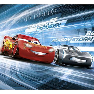 Komar Mural fotográfico Cars Simulation rojo 184x254 cm