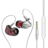 Auriculares intrauditivos HiFi de 3,5 mm con control de volumen - plat