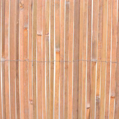 vidaXL Valla de bambú 100x400 cm