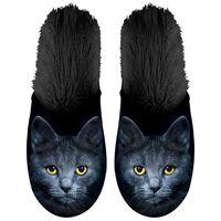 Plenty Gifts Zapatillas de felpa de animales gato negro № 39-42 42539
