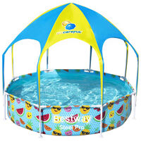 Bestway Piscina elevada para niños Steel Pro UV Careful 244x51 cm