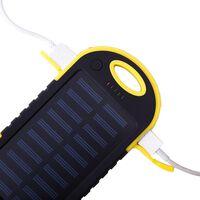 Powerbank 5000 mAh - batería de reserva a prueba de agua - amarillo