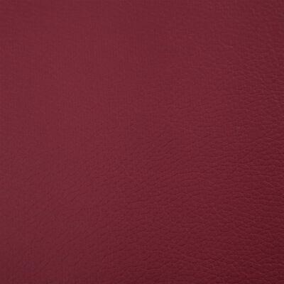 vidaXL Banco con espacio de almacenaje 116 cm piel sintética rojo vino