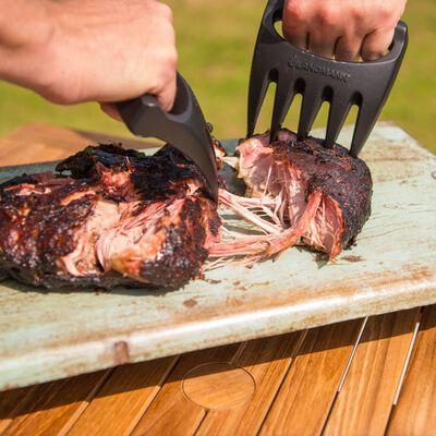 Landmann Garras para desmenuzar carne 2 unidades negro 15401