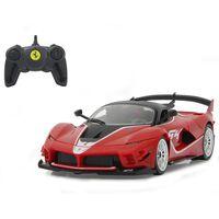 Jamara Coche superdeportivo teledirigido Ferrari FXX K Evo rojo 1:18