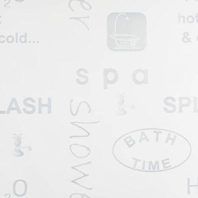 vidaXL Persiana enrollable de ducha 160x240 cm Splash