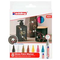 edding Rotulador de pintura brillante 8 unidades multicolor 750