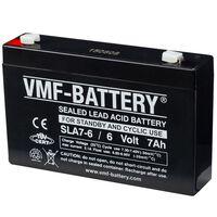 Batería aparatos estáticos cíclicos 6 V 7 Ah SLA7-6 VMF AGM