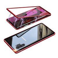 Funda magnética para Samsung Galaxy Note 10 Pro / Plus con protector d