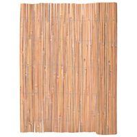 vidaXL Valla de bambú 125x400 cm