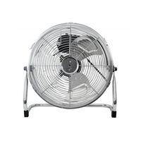 Ventilador Industrial 40 Cm Cromado 100 W  Con 3 Velocidades