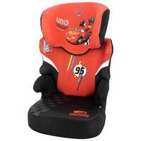 Disney Silla de coche para niños Befix Cars grupo 2+3 rojo