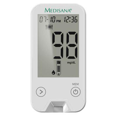 Medisana Medidor de glucosa en sangre MediTouch 2 blanco mg/dL