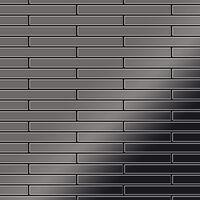 ALLOY Deedee-Ti-SM Mosaico de metal sólido Titanio gris