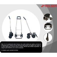 Carro Compra Termo Negro / Malva - Rolser - Ter038