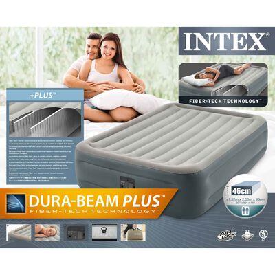 Intex Colchón inflable Dura-Beam Plus Essential Rest Queen 46 cm