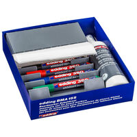 edding Accesorios para rotuladores de pizarra blanca BMA 15S 27 pzas