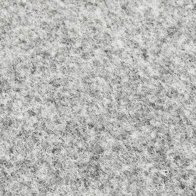 vidaXL Césped artificial con tacos 20x1 m gris