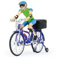 Jamara Bicicleta de juguete con sonido morada