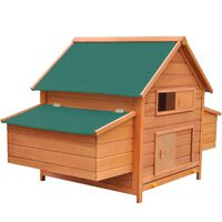 vidaXL Gallinero de madera 157x97x110 cm