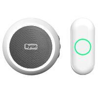 Byron Timbre de puerta conexión inalámbrica blanco