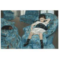 Cuadro Lienzo - Retrato De Una Niña Pequeña - Mary Cassatt