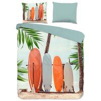Good Morning Funda de edredón SURF 135x200 cm multicolor
