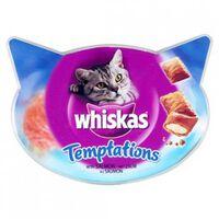 Whiskas Snacks para Gatos temptations salmon  | 2 x  Whiskas | Miscota