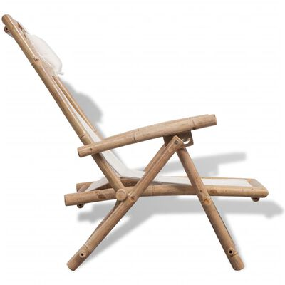 vidaXL Hamaca de jardín de bambú