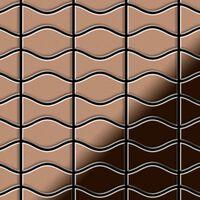 ALLOY Kismet & Karma-CM Mosaico de metal sólido Cobre cobre