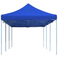 vidaXL Carpa plegable Pop-up 3x9 m azul
