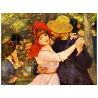 Cuadro Lienzo - Baile En Bougival (Detalle) - Pierre Auguste Renoir