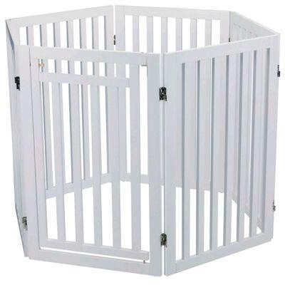 TRIXIE Barrera para perros 60-160 cm blanca 39363