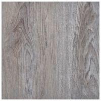 vidaXL Lamas para suelo autoadhesivas PVC marrón claro 5,11 m²