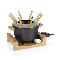 Princess Set de fondue Pure negro 800 W