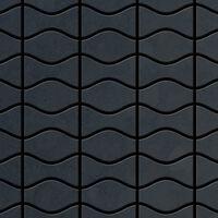 ALLOY Kismet & Karma-RS Mosaico de metal sólido Acero bruto gris