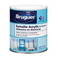 Esm Acrylic Br Gris Medio - BRUGUER - 5057524 - 750 ML