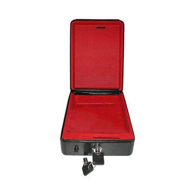 ProPlus Caja fuerte de seguridad de acero con llave 225x165x85mm