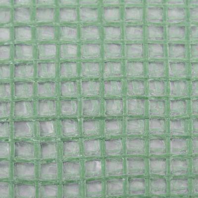 vidaXL Cubierta de repuesto de invernadero verde 6 m² 200x300x200 cm