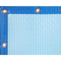 Manta Térmica 500micras GeoBubble CG piscina de 6,5x7,5m con refuerzo