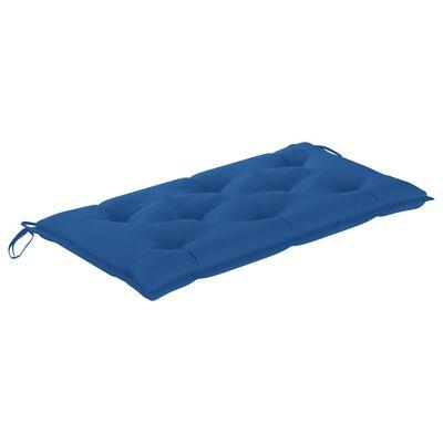 vidaXL Cojín para columpio balancín tela azul 100 cm