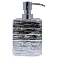 RIDDER Dosificador de jabón Brick plateado