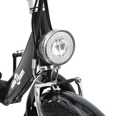 Bicicleta eléctrica plegable con batería litio aleación de aluminio