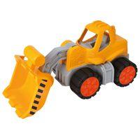 BIG Máquina cargadora de juguete con ruedas